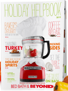 2013 bed bath and beyond holiday helpbook